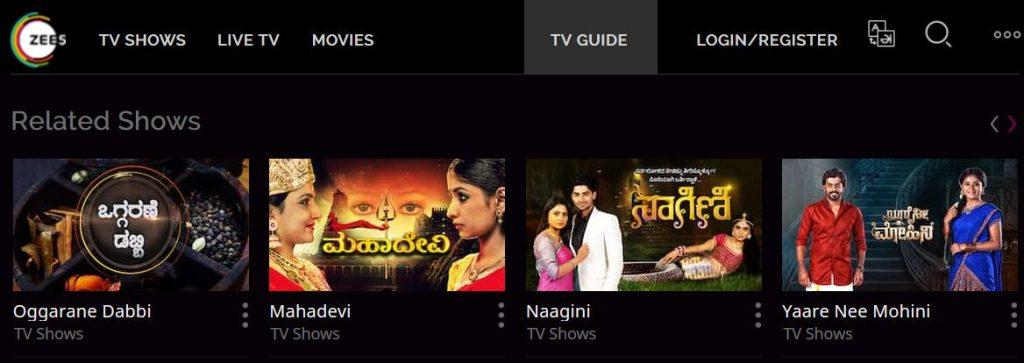 Ozee Zee Kannada App Migrated To Zee5 - Latest Episodes Of