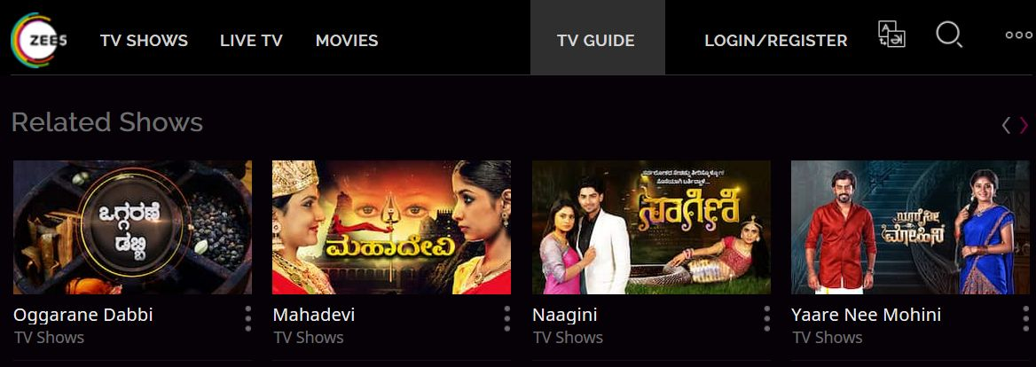 Ozee Zee Kannada App Migrated To Zee5 - Latest Episodes Of